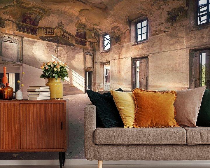 Beispiel fototapete: Gezeichnet Kammer. von Roman Robroek