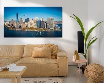 Skyline New York, Manhattan van Maarten Egas Reparaz