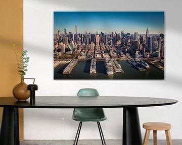 Skyline New York, Midtown Manhattan van Maarten Egas Reparaz