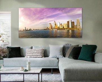 New York Skyline, Manhattan - Panorama van Maarten Egas Reparaz