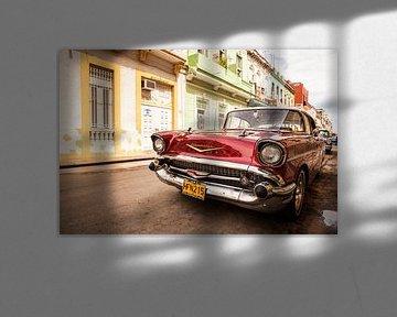 Chevrolet Oldtimer in Havanna, Kuba sur Bart van Eijden