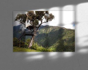 Baños, Ecuador sur Bart van Eijden