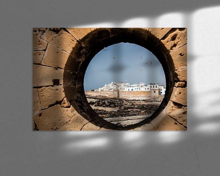 Sfeerimpressie: Essaouira, Marokko van Bart van Eijden