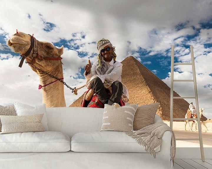 Sfeerimpressie behang: Egypt van Bart van Eijden