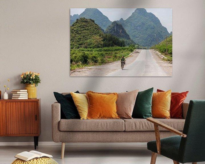 Sfeerimpressie: Yangshuo, China van Bart van Eijden