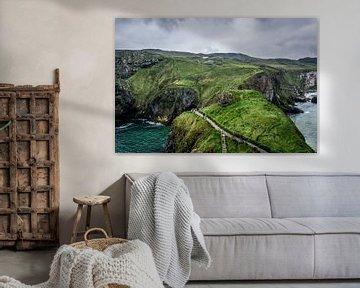 Carrick a-Rede - Noord Ierland van Dennis van Berkel