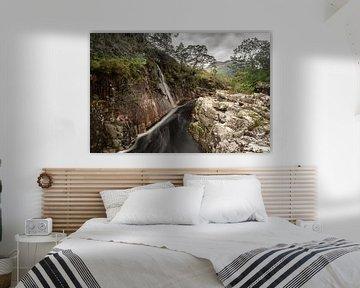 De rivier Etive in West Schotland von Gerry van Roosmalen