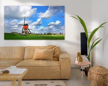 Dutch Landscape van Harry Hadders