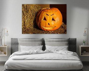 Pumpkin with face van Rico Ködder