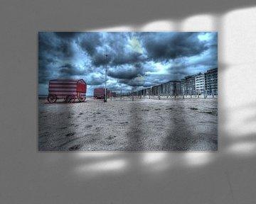Strand van de Panne van Jaap Voets