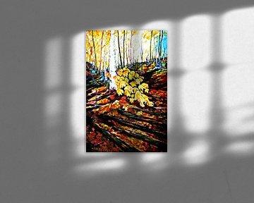 Autumn colors van Eberhard Schmidt-Dranske