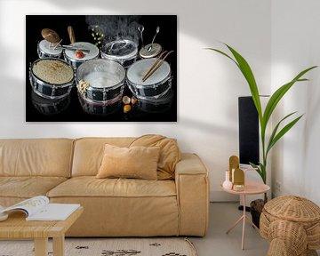 Drummers Dinner van Olaf Bruhn