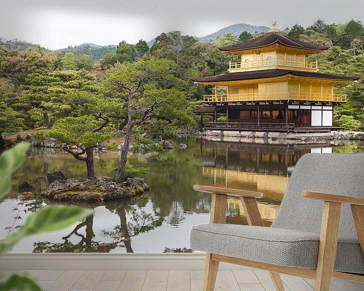Sfeerimpressie behang: Kyoto Japan van Bart van Eijden