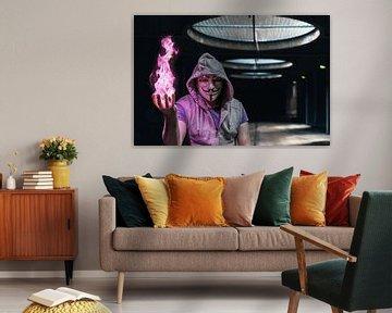 Magic fire von Theo Jansen