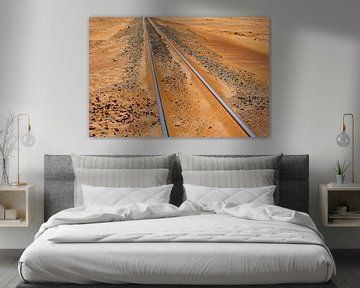 Eisenbahnlinie Namib-Wüste