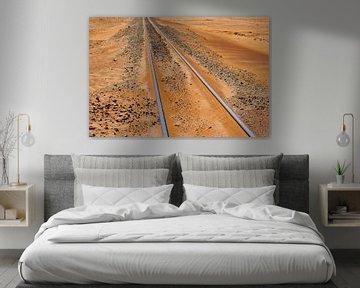 Spoorlijn Namibwoestijn