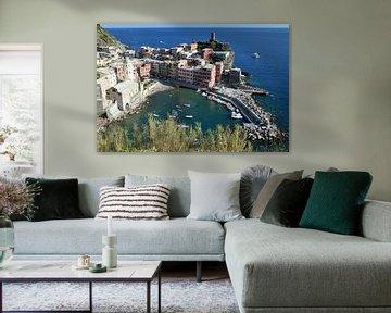 Vernazza, Cinque Terre van Ageeth g