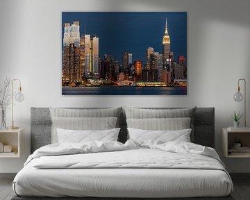 New York blaue Stunde van Kurt Krause