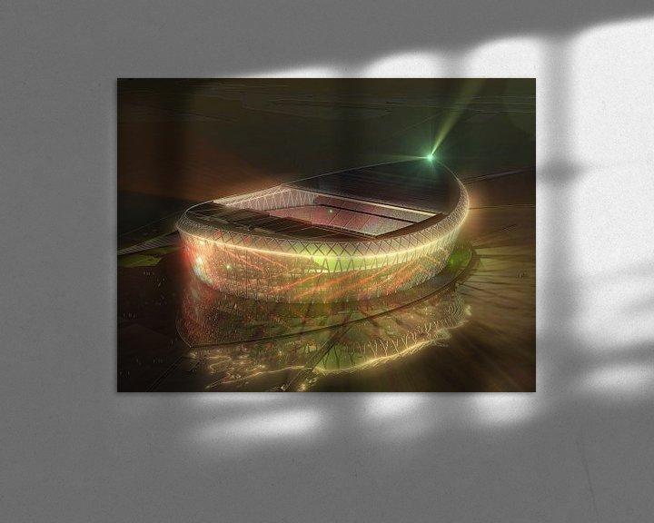 Sfeerimpressie: De Schuit bij nacht van Frans Blok