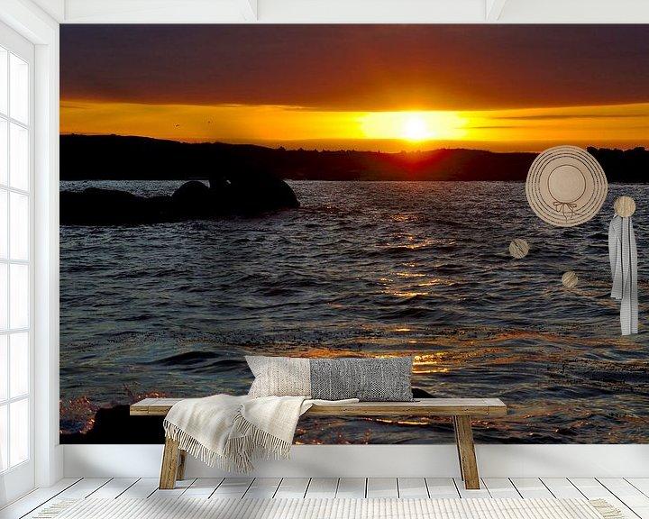 Sfeerimpressie behang: Blinded by the Light van 7Horses Photography