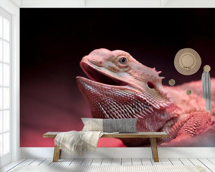 Beispiel fototapete: Reptiel von Guido Akster