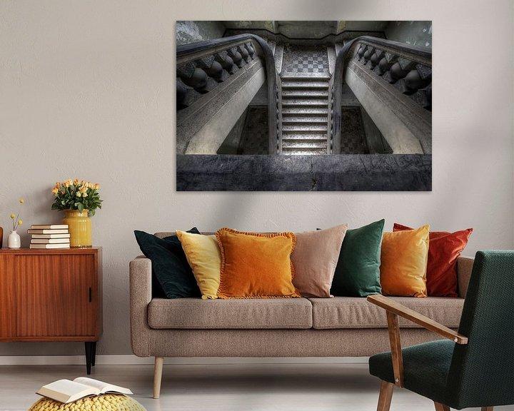 Beispiel: Canon ball staircase von Steve Mestdagh