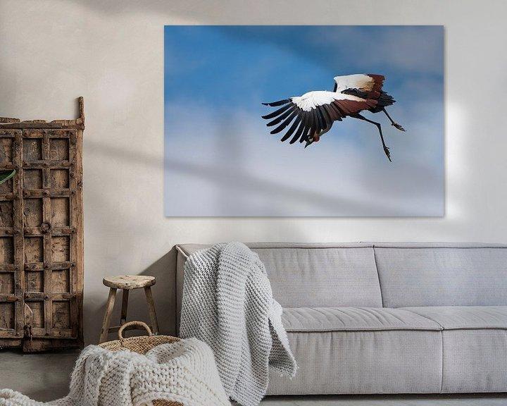 Sfeerimpressie: Kraanvogel van Guido Akster