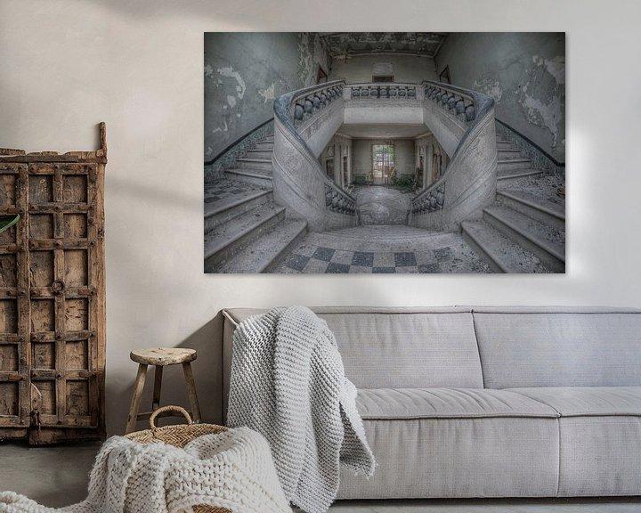 Beispiel: Orphan staircase von Hettie Planckaert