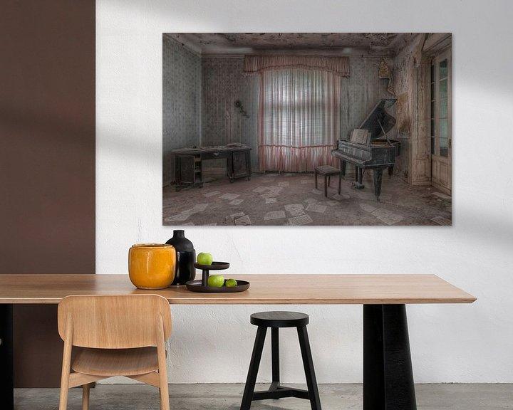 Beispiel: Piano room von Hettie Planckaert