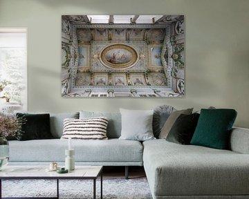 Italiaanse plafond schildering van Mirjam Offeringa