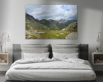 Berglandschap  van Kunst van Karin
