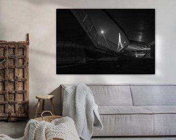 Die Erasmus-Brücke in Rotterdam von MS Fotografie | Marc van der Stelt
