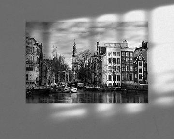 Groenburgwal en Zuiderkerk van Dennis van de Water