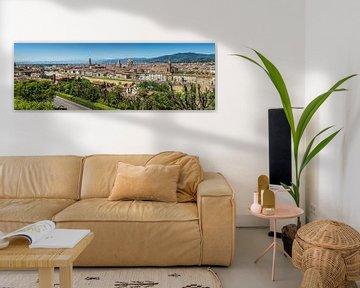 FLORENZ Aussicht vom Piazzale Michelangelo | Panorama von Melanie Viola