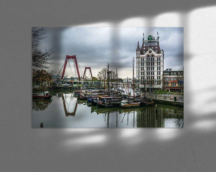 Sfeerimpressie: Oude haven Rotterdam van Arthur Wolff