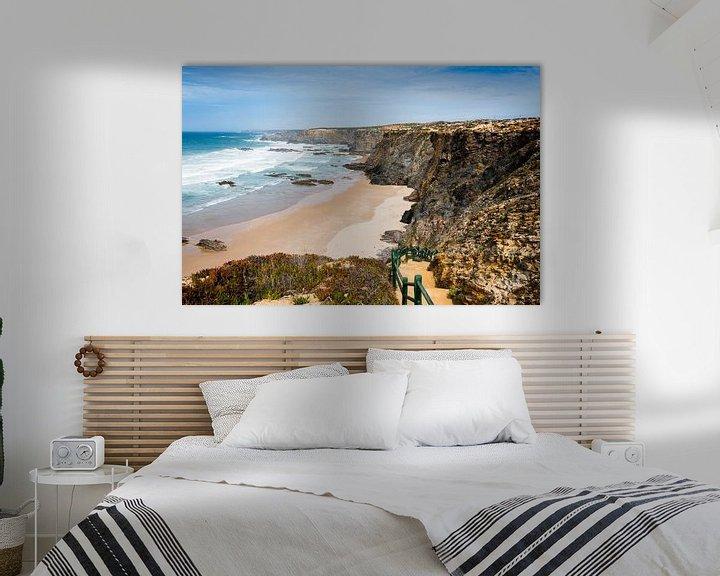 Impression: atlantic ocean beach portugal sur ChrisWillemsen