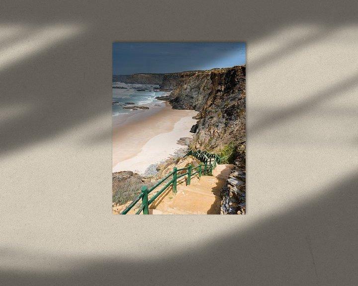 Sfeerimpressie: atlantic ocean beach portugal van Compuinfoto .