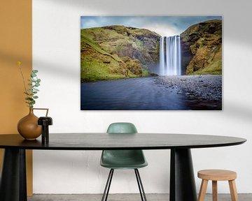 Skogafoss, IJsland van Chris Snoek