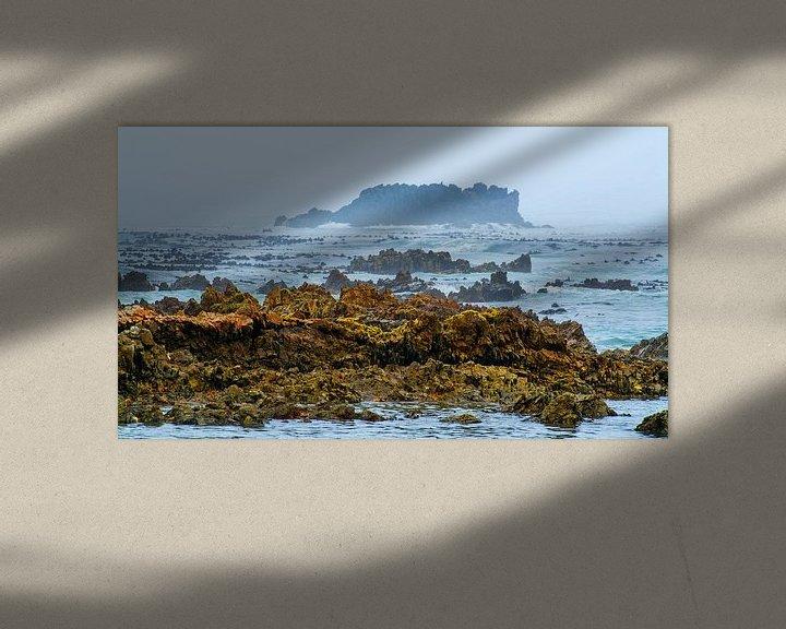 Sfeerimpressie: Mistige ochtend bij Kleinbaai van Filip Staes