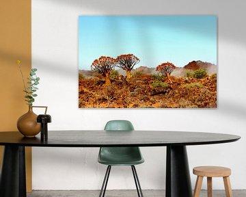 Afrikaanse bomen van Inge Hogenbijl