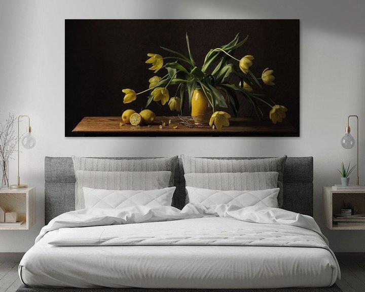 Sfeerimpressie: Stilleven tulpen van Monique van Velzen