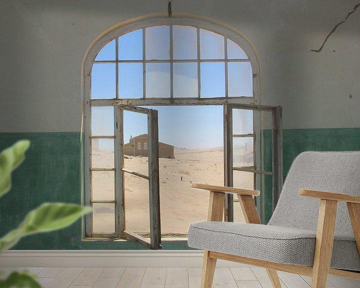Beispiel fototapete: Verlassene Orte mit Aussicht von Inge Hogenbijl