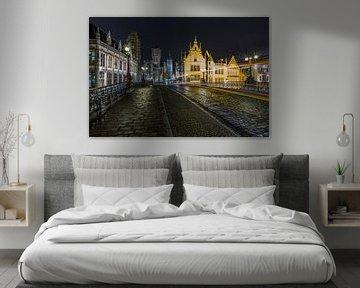 De Sint Michielsbrug in Gent van MS Fotografie | Marc van der Stelt