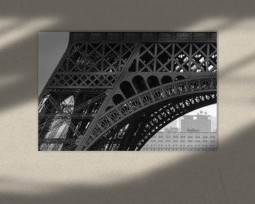 Detail van de Eiffeltoren van Emajeur Fotografie