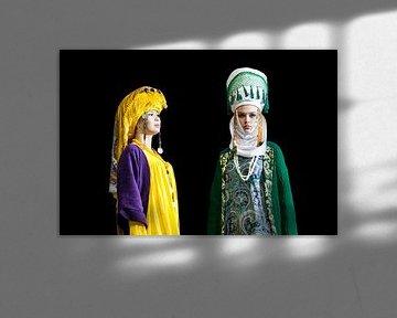 Modeshow Kirgizië van Bart van Eijden