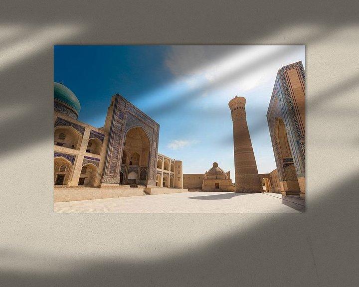 Sfeerimpressie: Bukhara Kalan Complex Oezbekistan van Bart van Eijden