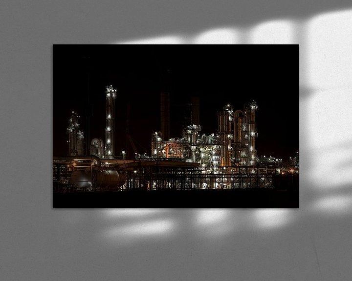 Impression: Petrochemie in de nacht sur Guido Akster