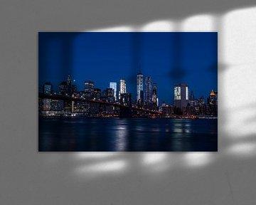 New York City Skyline von Thomas Bartelds
