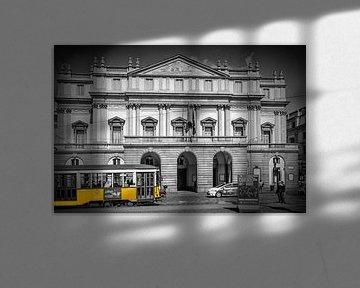 MILAN Teatro alla Scala & Tram van Melanie Viola