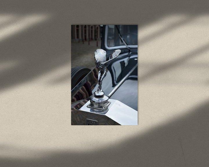 Sfeerimpressie: Rolls Royce van Erik van Riessen